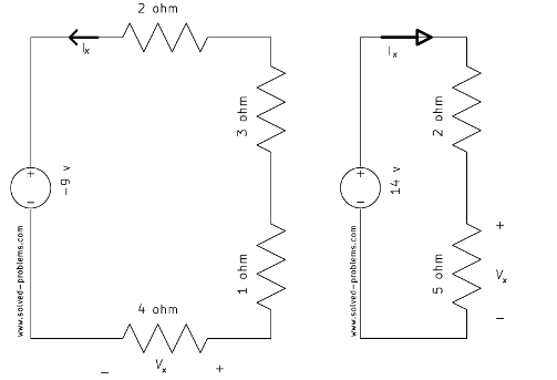 Multiple Voltage Divider Problems - Solved Problems