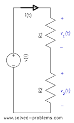 Voltage Divider – Voltage Division Rule