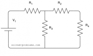 solve using voltage division rule