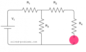 voltage divider can be applied directly here