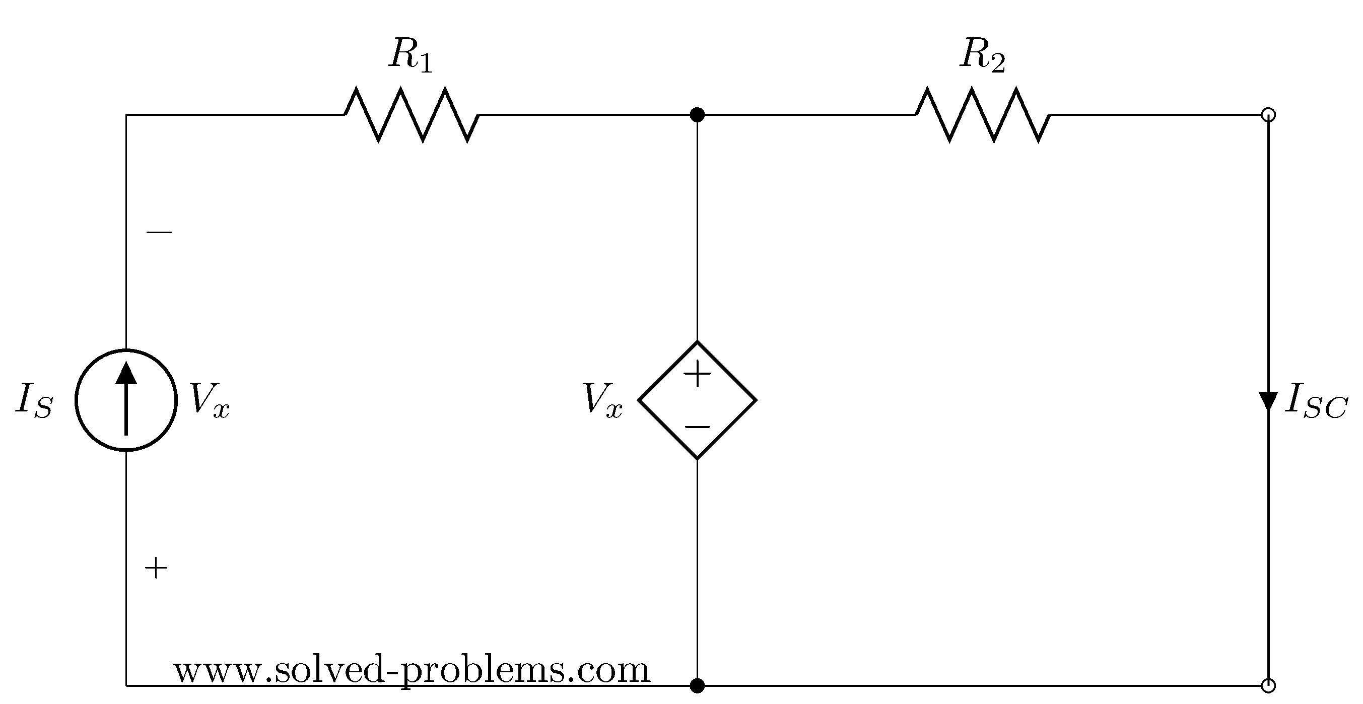 find thevenin s and norton s equivalent circuits solved problems