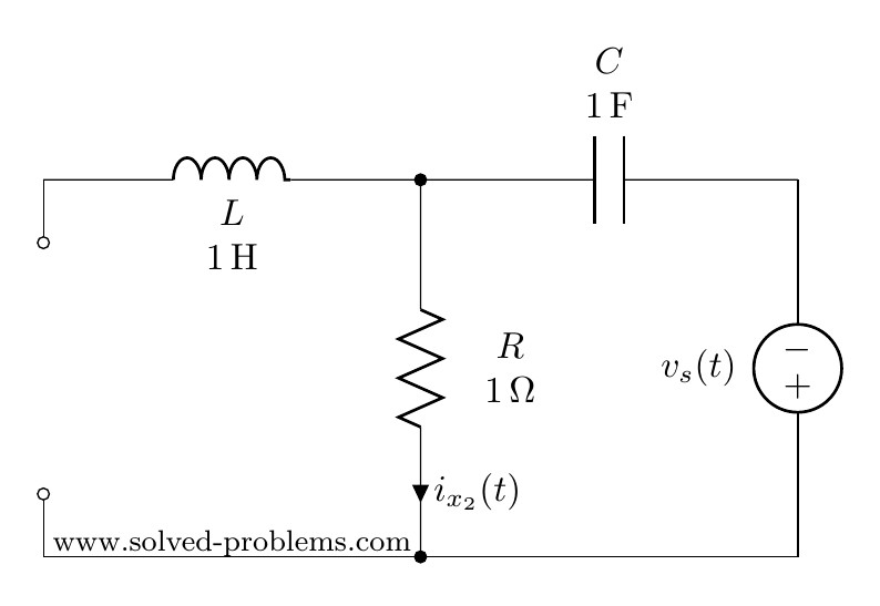Turning off the current source for AC steady state circuit problem containing sources with different frequencies