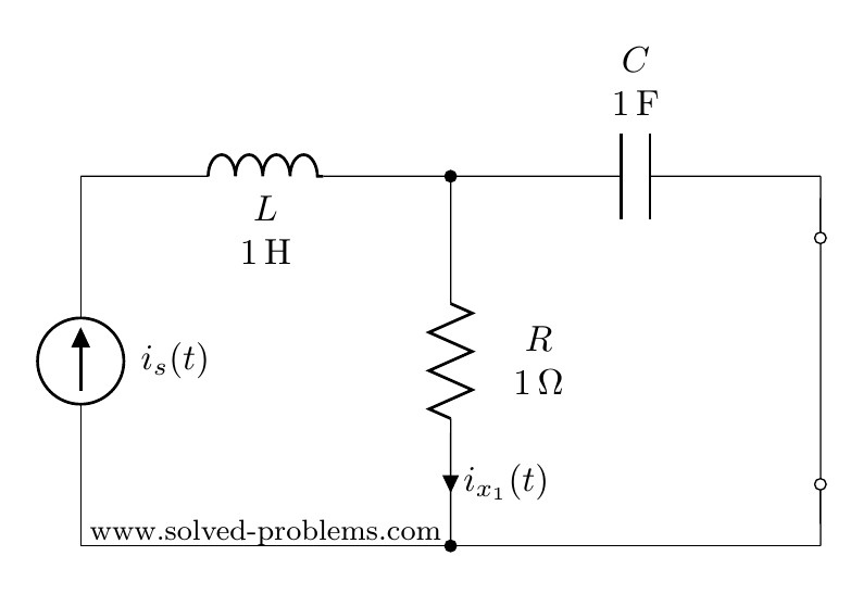 Turning off the voltage source for AC steady state circuit problem containing sources with different frequencies