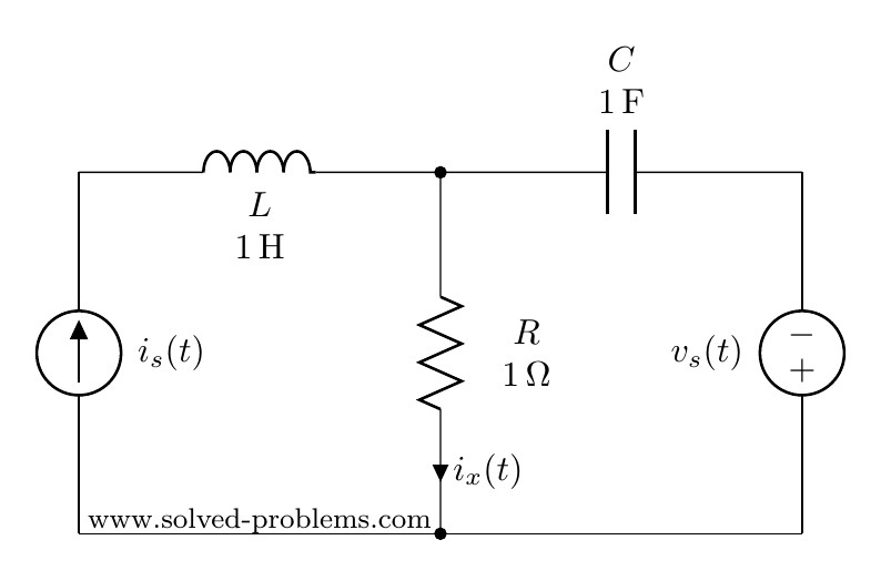 ac circuit analysis with different source frequencies