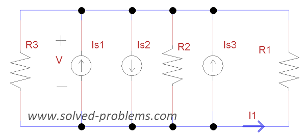 Single node-pair analysis - Redrawing the circuit