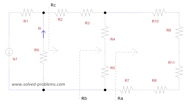 Circuit Reduction - Redrawing the circuit