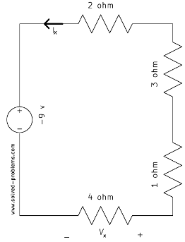 Voltage Divider Problem - B